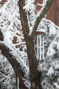 Wind Chime in Snow