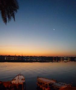 Sunrise over Luxor, Egypt