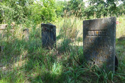 Dunlop family cemetery near Mazomanie, WI